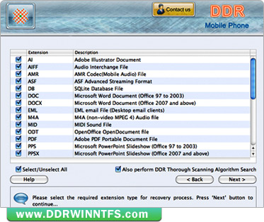 Mac DDR Recovery Software - Mobile Phone ( Mac Data Doctor Recovery